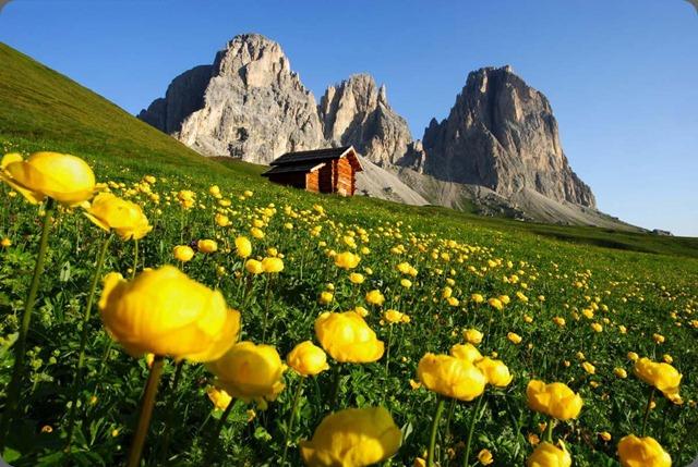 paesaggio-montano-della-Val-di-Fassa
