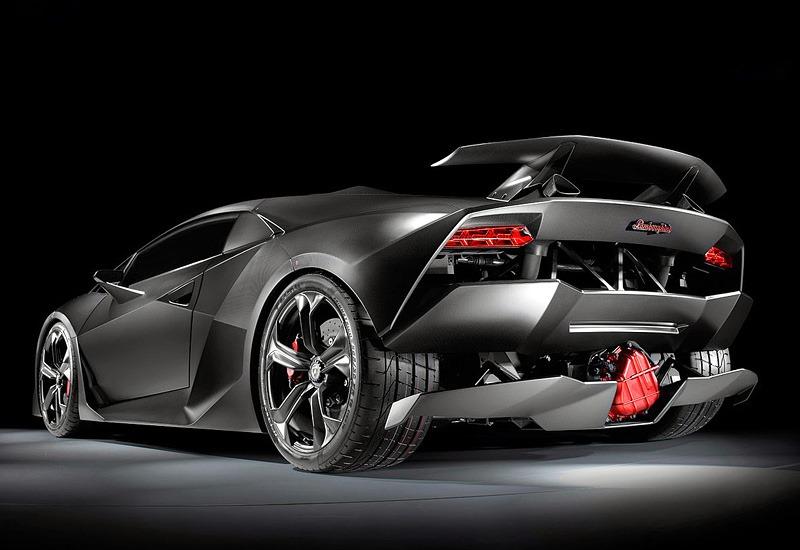 Lamborghini Sesto Elemento Back Looks