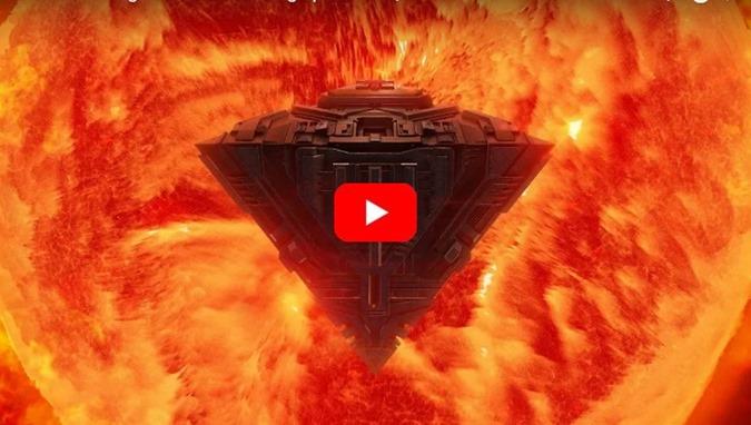 Sondas espaciais SOHO e SDO registram objeto enorme saindo do sol