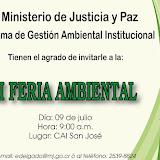 III FERIA AMBIENTAL 2015