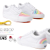 Vans x FLOUR SHOP Old Skool Unisex Rainbow Sneakers $24.99 (Reg $75) + Free Shipping