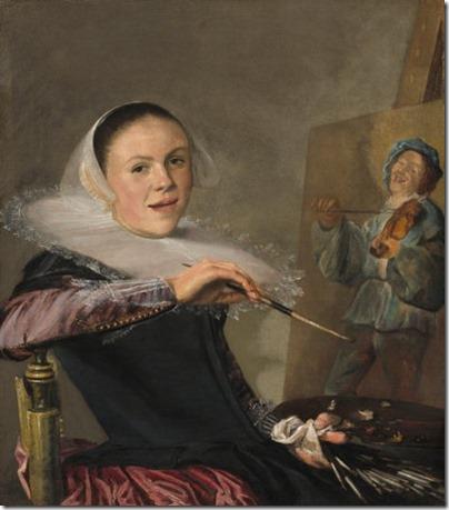 Last Painting of Sara de Vos  Judith Leyster