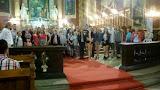 A kórus éneke- Ároni áldása -a püspöki székesegyházban (2017. június 1.)