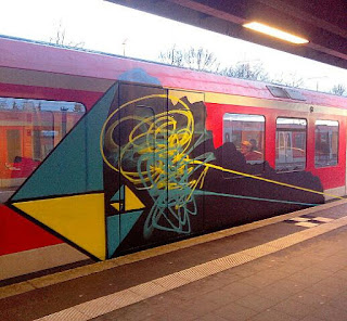 graffiti S-Bahn Hamburg