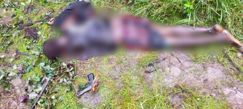 TNI Berhasil Sergap Gerombolan KKSB Di Sebuah Hanoi Di Nduga