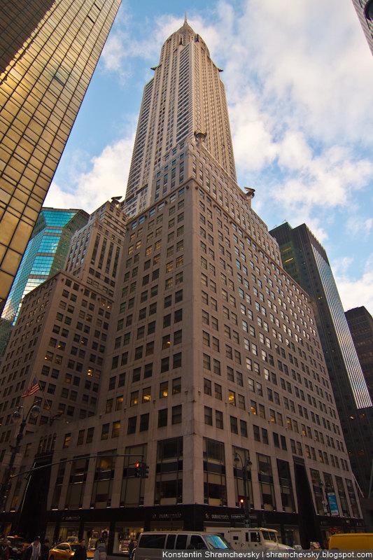 USA New York Chrysler Building США Нью Йорк Здание Крайслера