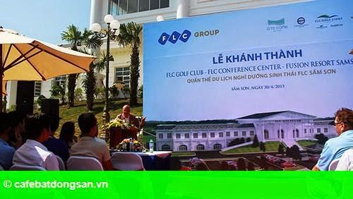 Hình 2: Quần thể du lịch FLC Sầm Sơn: Khánh thành các hạng mục đầu tiên nhân dịp 30/4