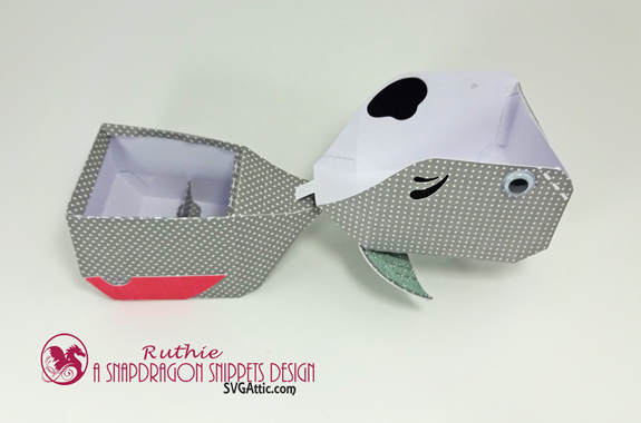 Whale 3d Hinged Box  - SnapDragon Snippets - Ruthie Lopez 2