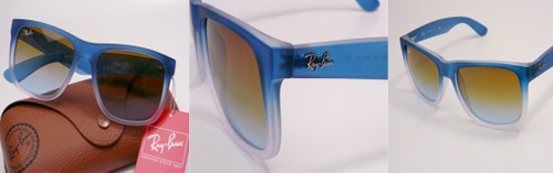 b5dc8f4ac7d ... order ray ban justin sunglasses fully rimmed acetate frame curved  acetate temples with ray ban printed
