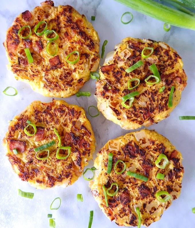 Spaghetti Squash Fritters Recipe | Breakfast Care