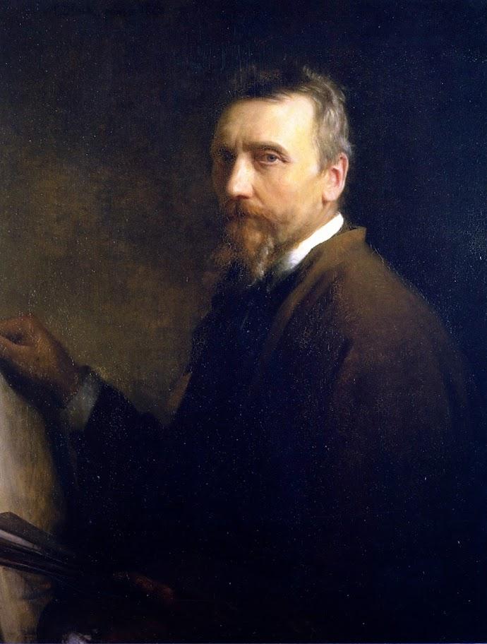Carl Bloch - Self Portrait