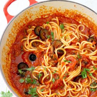 Puttanesca Sauce Recipe (Spaghetti alla Puttanesca)