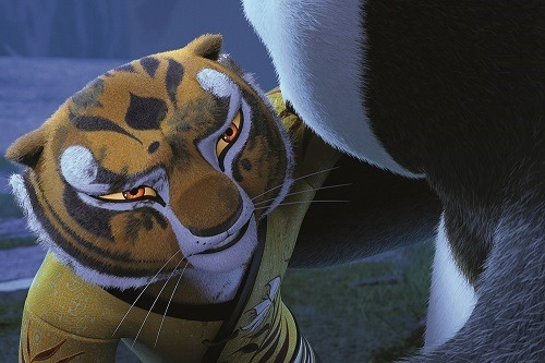 Angelina Jolie Pitt as Tigress in KUNG FU PANDA 3