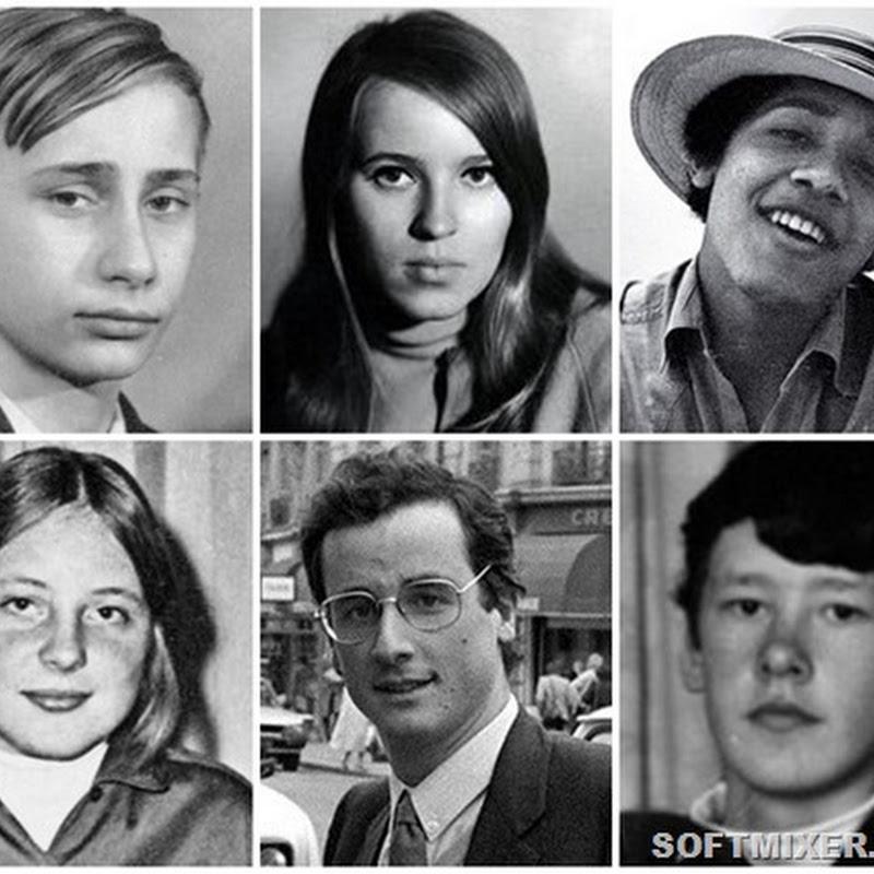 Как выглядели мировые политики в молодости