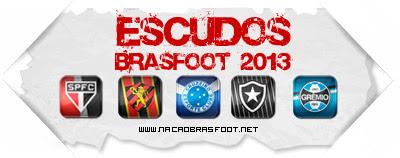 Escudos Brasfoot 2013 - Carbon