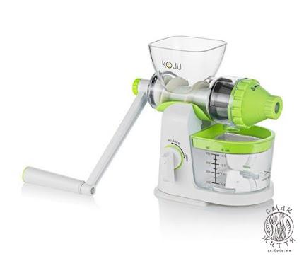 Соковижималка механічна KOJU Manual Juicer