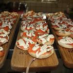 Sm salmon creme fraiche on bagel.JPG