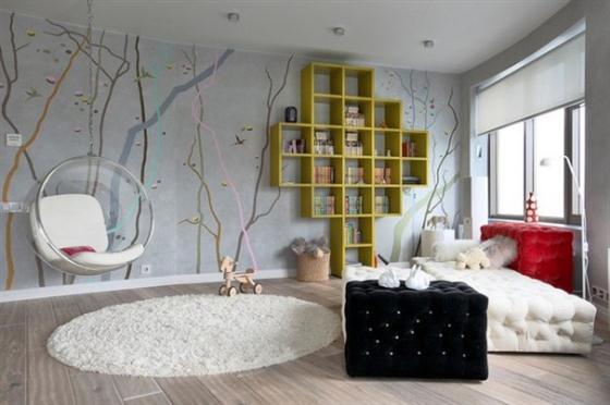 Teen Bedroom Wall Designs 88
