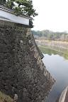 江戸城:本丸北面の石垣
