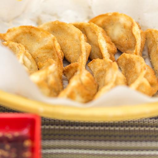 Pan-Fried Shrimp Dumplings