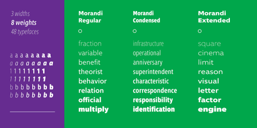Download Morandi™ Fonts by Monotype