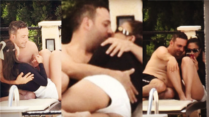 Demet Özdemir and Oğuzhan Koç are in love! Romantic moments next to the pool ...
