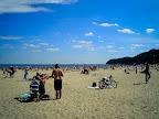 Pláž v Gdyni