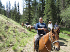 Trail ride, Paseo del Lobo July 13-15 (Photo by J. Davis)