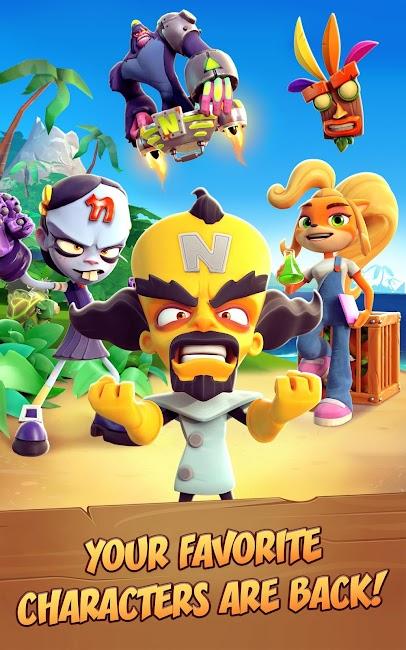 Crash Bandicoot trên đường chạy!  MOD APK 1.0.76 2