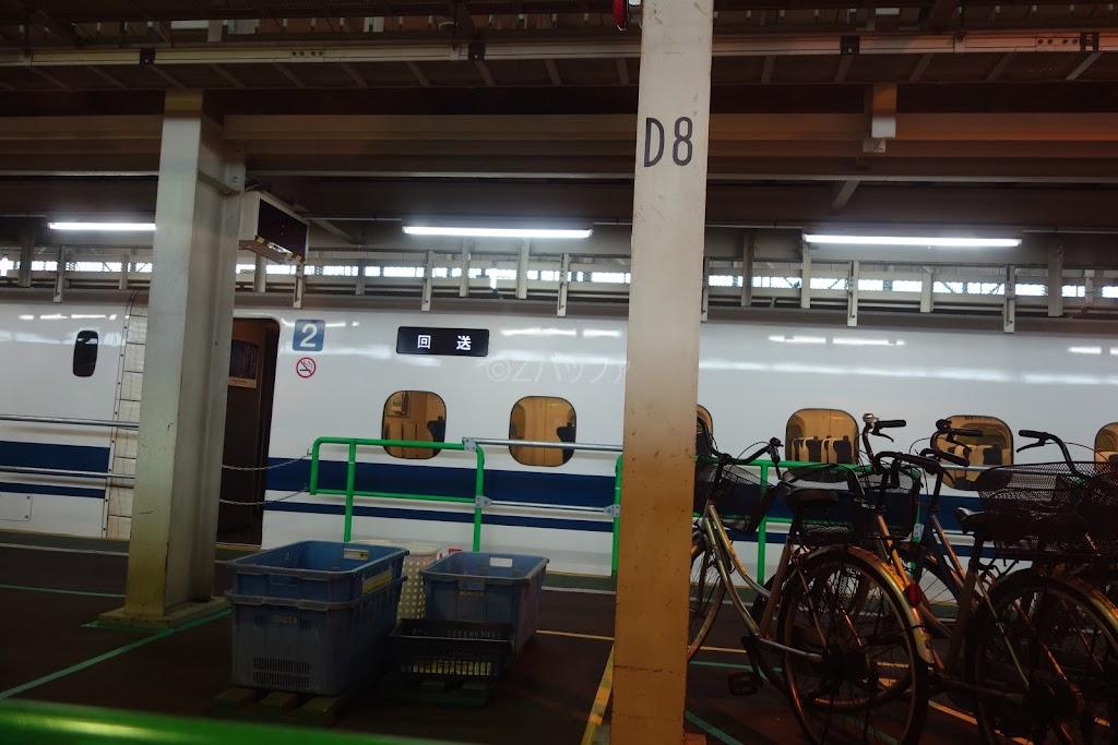 一般初公開となるJR東海の名古屋車両所内