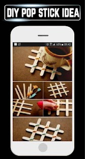 DIY Popsicle Stick Craft Steps Ideas Home Gallery - náhled