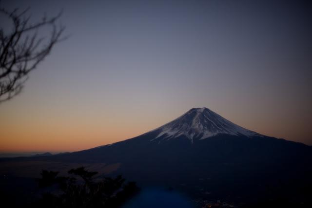 三つ峠 富士山