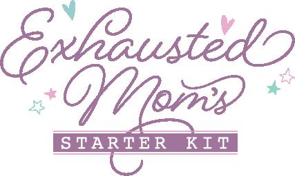 Exhausted Mom's Starter Kit logo