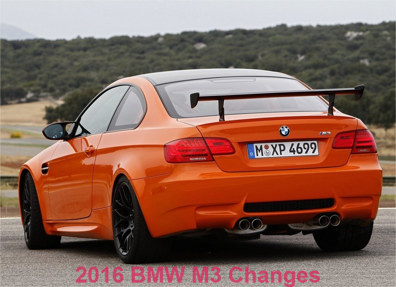 2016 BMW M3 Changes: 2 Extra Colors and New LEDs