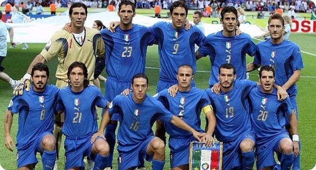 A 5 días del inicio del Mundial Rusia 2018: Recuerdos mundialistas en 2006 Italia gana el título, Alemania enamora al mundo