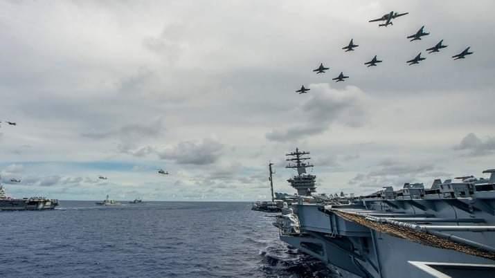 Amerika Serikat, Jepang, dan Perancis Akan Menggelar Latihan Militer Bersama di Bulan Mei