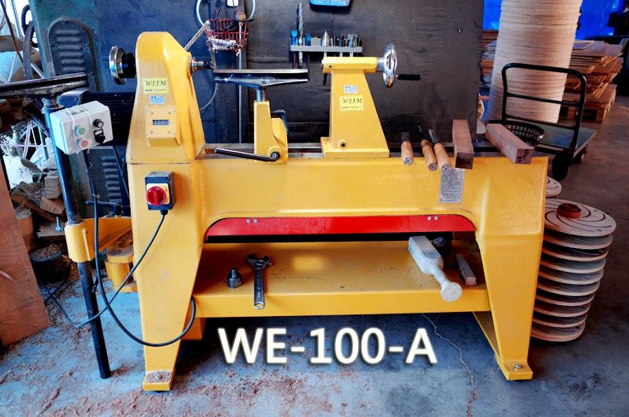 【使用紀錄】達哥牌WE-100-A型木工車床