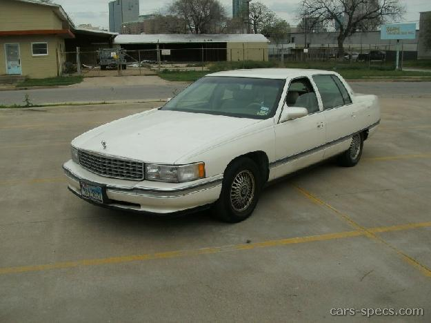 1996 cadillac deville sedan specifications pictures prices. Black Bedroom Furniture Sets. Home Design Ideas