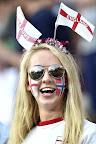 Angol szurkoló a franciaországi labdarúgó Európa-bajnokság Anglia - Izland mérkőzésén a nizzai Allianz Riviera Stadionban 2016. június 27-én. (MTI Fotó: Illyés Tibor)