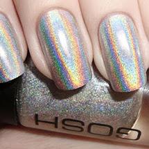 Esmalte holográfico prata