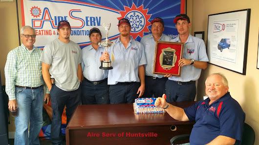 The Award Winning Aire Serv Of Huntsville Team