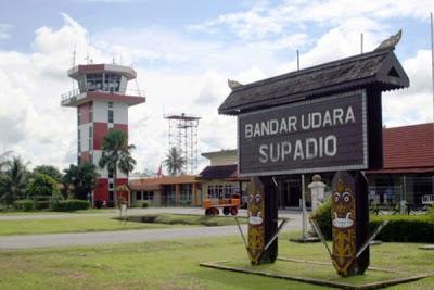 Bandara Supadio Pontianak Kalimantan Barat. ZonaAero