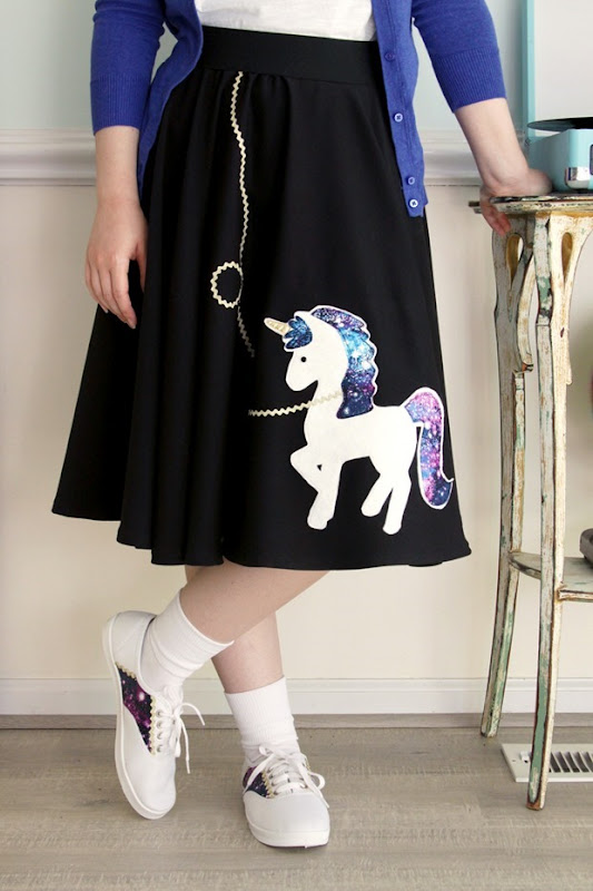 Easy-DIY-Unicorn-Circle-Skirt