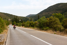 Last few kilometers in Croatia.