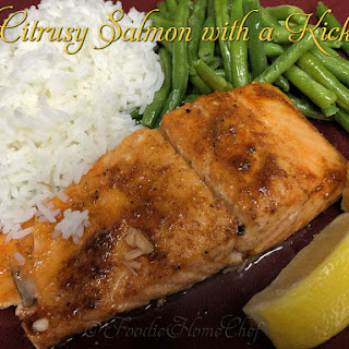 Citrusy Salmon with a Kick