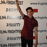 OIC - ENTSIMAGES.COM - Nathan Ambrosioni   at the Film4 Frightfest on Monday   of  Hostile UK Film Premiere at the Vue West End in London on the 31st  August 2015. Photo Mobis Photos/OIC 0203 174 1069