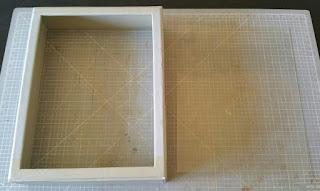 Las dos piezas que componen la tapa