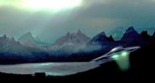 Sw Of Jersey Channel Islands Saucer Shaped Ufo Filmed