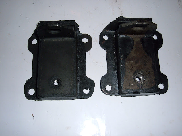 Engine mounts 1961-1965 Electra, 61-62 Invicta,62-63 LeSabre, 63-66 Riviera and 62-65 Wilcat. 38.00 a pair.