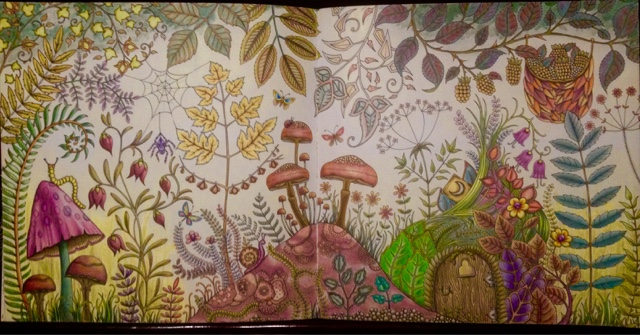 C Is For Colorista Mindfully Coloring Those Enchanting